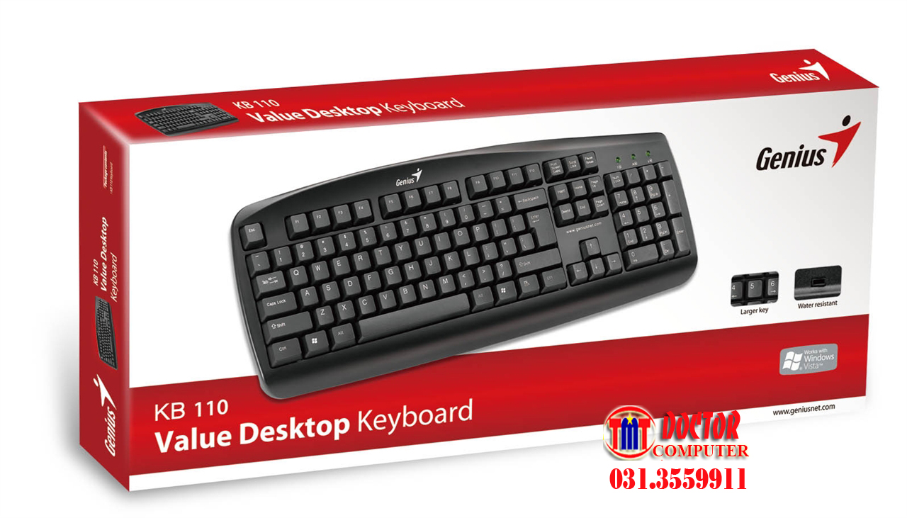 2849 b n ph m genius kb110 usb 2