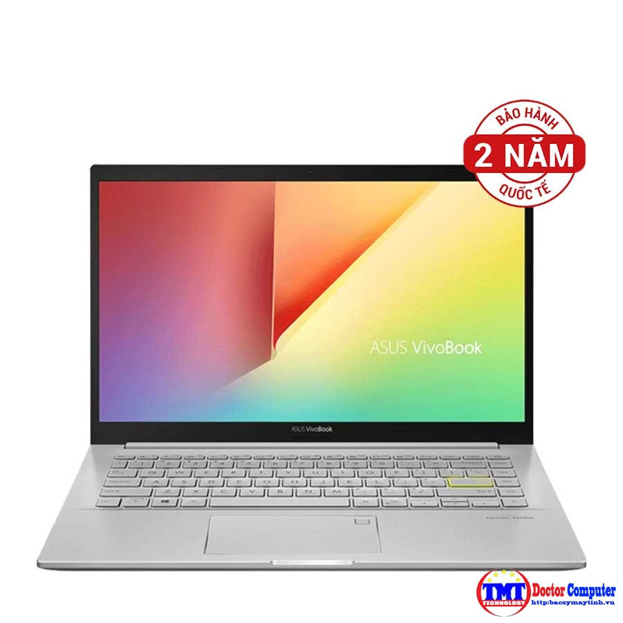 "Laptop Asus Vivobook A415EA-EB557T Intel Core i3-1115G4/8GB on/256GB SSD PCIe/14"" FHD/FP/Win10 SL/Silver"