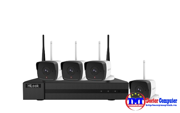 Bộ Kit camera IP Wifi HILOOK IK-4042BH-MH/W(B)