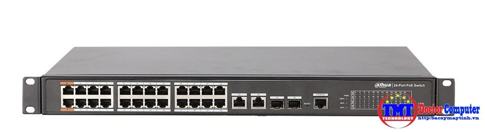 24-port 10/100Mbps PoE Switch DAHUA PFS4226-24ET-240