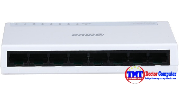 8-Port 10/100Mbps Switch DAHUA DH-PFS3008-8ET-L